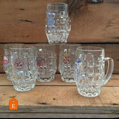 How about some nice beer mugs for dad for Father's Day? #beermugs #halfpint