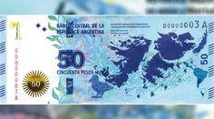 El Banco Central (BCRA) pondrá en circulación en marzo una nueva serie de billetes de curso legal de 50 pesos en homenaje a la defensa de la soberanía nacional sobre las Islas Malvinas, Georgias del Sur, Sandwich del Sur y los espacios marítimos circundantes.