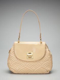 Piaz Nappa Shoulder Bag by Adrienne Vittadini Adrienne Vittadini, Medium  Bags, Quilted Leather, e548a2ee3b