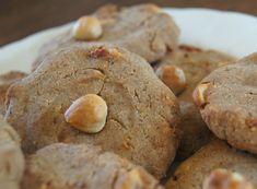 Glutenvrije en suikervrije hazelnoot koekjes