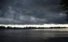 Stormy sky over Rideau River Clouds, Sky, River, Sunset, Gallery, Outdoor, Inspiration, Outdoors, Heaven