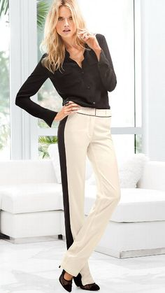 The Sofie Straight Leg Pant in Crepe #VictoriasSecret http://www.victoriassecret.com/clothing/day-to-night-sexy/the-sofie-straight-leg-pant-in-crepe?ProductID=100510=OLS?cm_mmc=pinterest-_-product-_-x-_-x