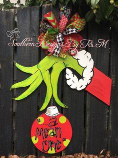 Suspensión suspensión de la puerta de Navidad decoración
