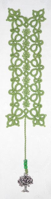 Le Blog de Frivole: Flowering Quatrain Bookmark Pattern