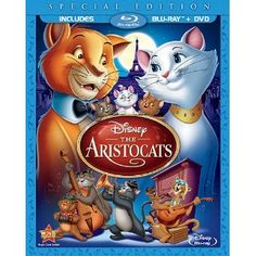 The Aristocats (Two-Disc Blu-ray/DVD Special Edition in Blu-ray Packaging) (1970) - Price: 	$27.86