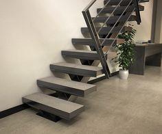 Escalier et garde-corps métallique sur-mesure #stairkaze