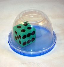 So smart- keep dice from flying all over the room! I bought eight of these at the Dollar Store and can't wait to use them in my centers.