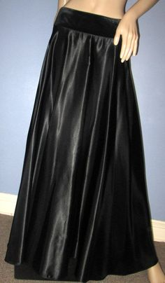 Ralph Lauren Black Maxi Skirt.  Ralph Lauren by MISSVINTAGE5000