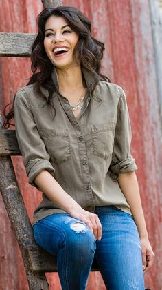 Denim Collection- I have this shirt and love it!