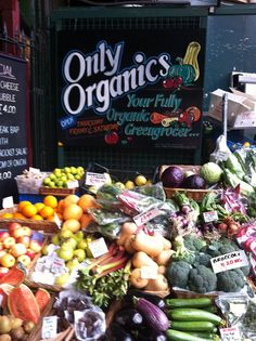 London photo of the day: Only Organics