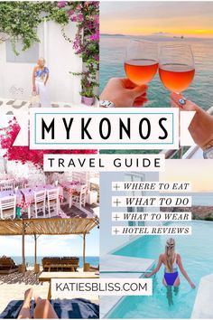 to greece To Greece destinations To Greece greek islands To Greece on a budget To Greece outfits To Greece packing lists To Greece tips To Greece with kids Mykonos Greece Travel Guide Mykonos Hotels, Mykonos Town, Greece Vacation, Greece Travel, Greece Trip, Crete Greece, Athens Greece, Santorini Travel, Santorini Greece