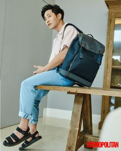 Jin Goo shows his gentle side in Cosmopolitan Guy Pictures, My Photos, Bh Entertainment, Sun Models, Oh My Venus, Empress Ki, Jin Goo, Do Bong Soon