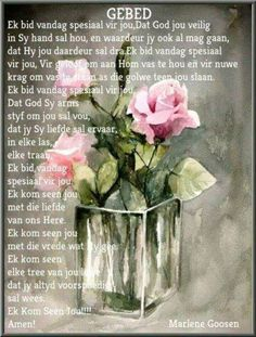 God Is Good Quotes, Cute Quotes, Prayer Quotes, Scripture Quotes, Scriptures, Happy Birthday Quotes, Happy Birthday Wishes, Evening Greetings, Afrikaanse Quotes