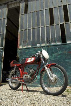 Garelli Supersport cafe racer moped