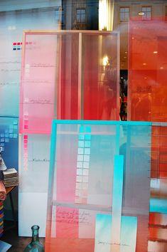 """Anthropologie, London, England, """"Wherever creative people work.....doors are unlocked"""", pinned by Ton van der Veer"""