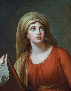 Emma, Lady Hamilton by Madame Vigée-Lebrun