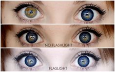 Blue Circle Lenses Before and After - Bing Images