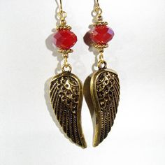 Falcon Watch: Glory to the Sin'dorei - Earrings inspired by World of Warcraft