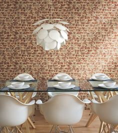 Brick Vinyl Wall Covering is a great addition to any room