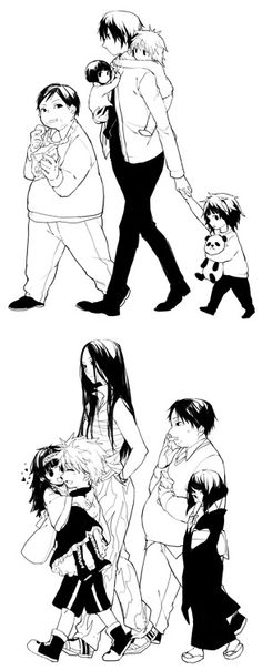 Milluki, Kalluto, Illumi, Killua, and Alluka ~Hunter X Hunter