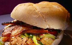 Tongue tantalizing barbecue pork Recipe by Guy Fieri