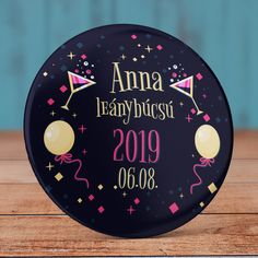 Party lánybúcsú kitűző – Angel Pin – Kitűző Webshop