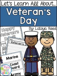 Veterans Day This is a 48 page unit filled with activities to do in honor of Veterans Day.