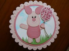 Stampin' Up! Piglet Punch art Disney