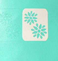 Sheet of 20 Flower Stencils. They do not come weeded. Color of vinyl may vary depending on what I have on hand. If you would like a particular color, please let me know and I will try to accommodate you.  To apply, allow your base polish to dry thoroughly before applying stencil. Paint over ste...