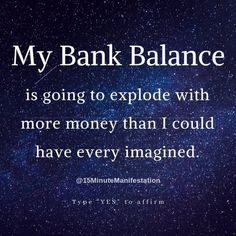 Do you want to manifest more money, love & success? Learn this secret law of attraction technique & reprogram your brain to manifest Unlimited Wealth, Love & Success. Positive Affirmations Quotes, Wealth Affirmations, Law Of Attraction Affirmations, Law Of Attraction Quotes, Affirmation Quotes, Positive Quotes, Spiritual Quotes, Spiritual Meditation, Spiritual Manifestation