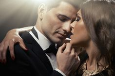 How to talk dirty to a man (without feeling stupid, awkward, or ridiculous) - I Love My LSI Aries Y Leo, Sagittarius Compatibility, Couple Fotos, Le Couple Parfait, Man In Black, Black Tie, Vice Versa, Feeling Stupid, Strong Marriage