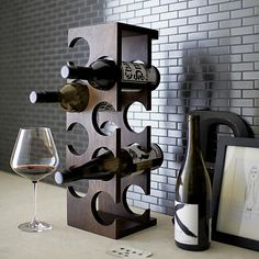 Woodinville 8-Bottle Wine Rack I Crate and Barrel