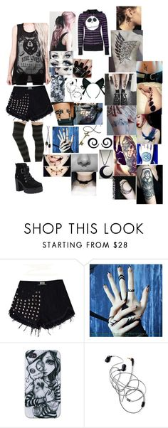 """A Place Where You Belong-Bullet For My Valentine"" by motionlessinleia ❤ liked on Polyvore featuring CO, Levi's, Nails Inc. and Burton"