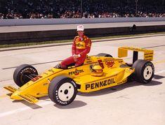 Rick Mears at Indy 500 - IndyCar Fotos Indy Car Racing, Indy Cars, Racing Team, Classic Race Cars, Indianapolis Motor Speedway, Pinewood Derby, Vintage Race Car, Chevrolet, Indie