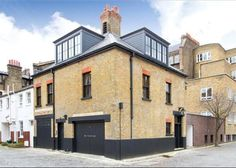 Historic building added onto with super modern pieces