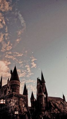 Hogwarts - Wizarding World of Harry Potter Harry Potter Tumblr, Images Harry Potter, Estilo Harry Potter, Arte Do Harry Potter, Harry Potter World, Harry Potter Castle, Enchanted Rose, Wallpaper Harry Potter, Harry Potter Background