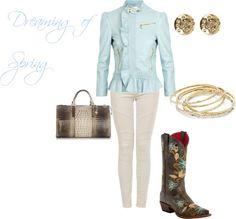 """""""Dreaming of Spring"""" by westernglamour on Polyvore"""