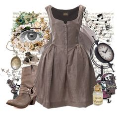 eyes by niemand on Polyvore featuring Vivienne Westwood, Frye, Miss Selfridge, Ann Demeulemeester, Dollhouse, Disney and Vintage Collection