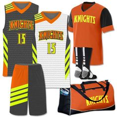 Get your hoops league more of what they need for less with basketball uniform team pack deals. Basketball Court Layout, Basketball Rules, Basketball Uniforms, Basketball Hoop, Basketball Videos, Knee Injury, Baseball Hats, Tops, Men's Apparel