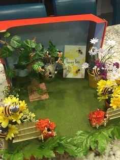 Diaroma habitat honeybee
