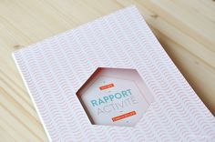 Rapport on Behance by Marmille