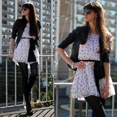 White and Black (by Tatiana S) http://lookbook.nu/look/4157464-White-and-Black