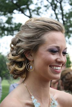 Love this casual updo