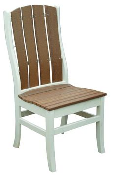 Amish Poly Talieson Dining Chair Attractive, eco friendly outdoor dining chairs. You can choose from lots of colors from neutral tones to bright shades!