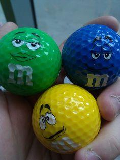 MM golf balls
