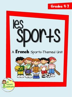 "This unit includes 15 pages of vocabulary and grammar activities for your beginning French students around the theme of sports.Pages include:-Vocabulary list with 15 terms in English and in French-Create your own Flash Cards Activity-Vocabulary Crossword (with answer key)-Vocabulary Verb Word Scramble (with answer key)-Vocabulary Matching Quiz (with answer key)-Asking Questions with ""Est-ce que"" Notes-Turning phrases into ""est-ce que"" questions (with answer key)-Writing ""est-ce que""…"
