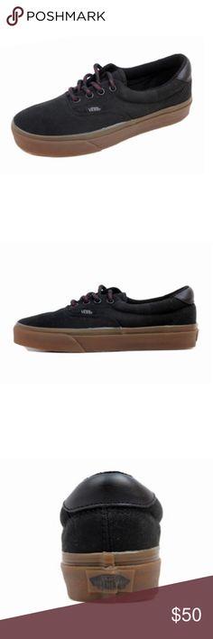 Vans era 59 hiking black gum sneaker shoes new New with tags Vans Era 59  hiking 97fc85d72