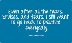 Cheer Quotes- Not only for cheerleading but for most other sports Cheer Qoutes, Cheerleading Quotes, Gymnastics Quotes, Cheerleading Gifts, Volleyball Quotes, Basketball Quotes, Cheer Sayings, Competitive Cheerleading, Basketball Captions
