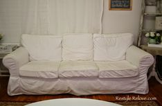 How To Restuff Ikea Ektorp Sofa Cushions Cheap, Easy and Quick Sofa Back Cushions, Outdoor Lounge Chair Cushions, White Cushions, Ikea Ektorp, Ikea Sofa, Ektorp Sectional, White Cushion Covers, Cushion Inserts, Small Grey Bedroom