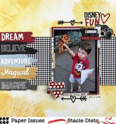 Disney Fun - Simple Stories - Say Cheese III